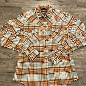 Rough stock by Panhandle slim button down shirt
